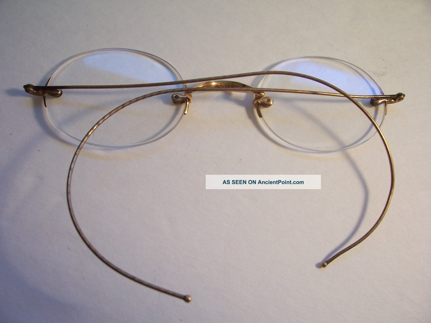 2123ed27730b Vintage Rimless Gold Eyeglasses – Southern California Weather Force