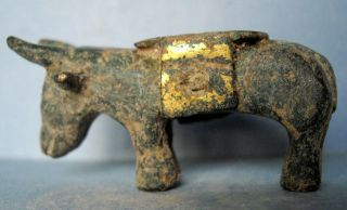 Ancient Celtic Bronze Bull.  (015439) photo