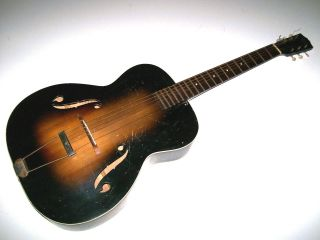 Antique Vintage 1930 ' S Arch Top Guitar Project By May Bell Or Slingerland photo