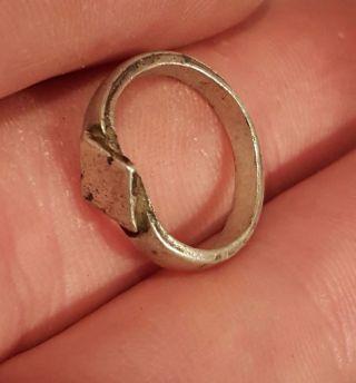Roman Silver Ancient Ring photo