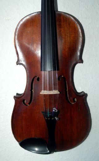 Fine Antique Handmade German 4/4 Master Violin - Label Antonius Stradiuarius photo