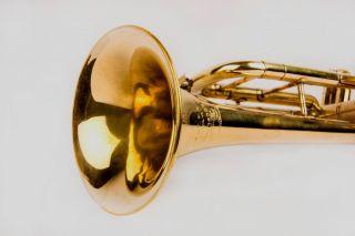 Wow Musical Handicraft Brass Pocket Cornet Bb Pitch With Mp Hot Hc 046 photo