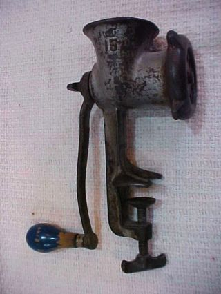 Vintage Best Made No.  25 Table Mount Hand Crank Food Grinder photo