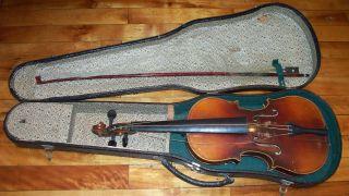 Antique Old Vintage Violin Antonius Stradivarius Cremonensis Faciebat Anno 2/7 photo