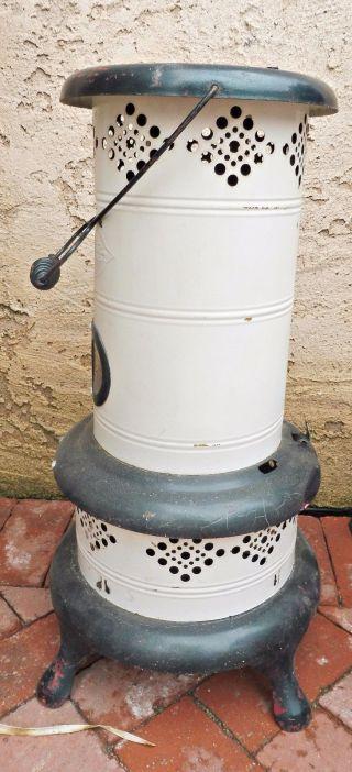 Leonard Metal Kankakee Kerosene Heater - Vintage photo