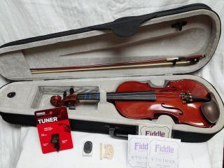 Vintage Full Size 4/4 Violin Signature Lafontana Model 8847 photo