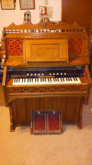 1893 Kimball Mormon Pump Organ photo
