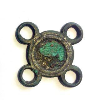 Ancient Roman Legionary Bronze Fitting photo