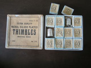 100 Yr Old,  Thimbles. photo