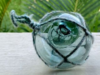 Japanese Glass Fishing Float.  2 1/4