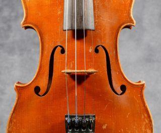Old French Violin Around 1900, . photo
