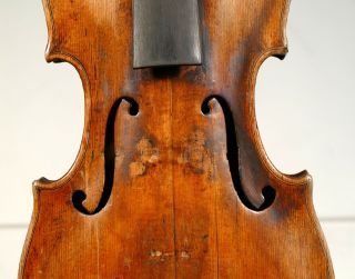 Interesting Early 19th Century Violin - For Repair.  Risk A Look photo