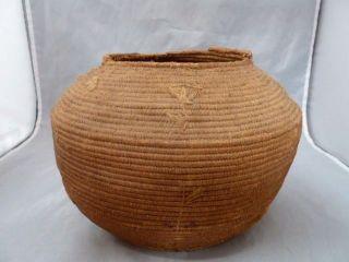 Native American Weave Basket Bowl.  Design.  Approx 6.  5