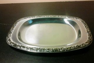 Vintage German Silver Plated Tray photo