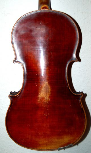 Fine Antique Handmade German 4/4 Fullsize Violin - Around 100 Years Old photo