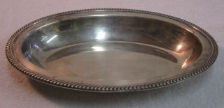 Gorham Sterling Silver Candy/nut Dish - 6.  74 Tr Oz photo