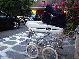 Vintage Italian Peg Perego Pram Baby Carriage photo