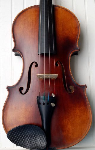 Fine Antique Handmade 4/4 Master Violin By Wilhelm Thomas Jaura photo