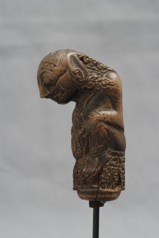 Hilt,  Keris Handle Of An Indonesian Dagger,  Cirebon,  Java,  Indonesia photo