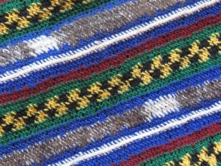 Vintage Handmade Papua Guinea Cap / Hat… Design & Colour. photo