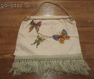Classic 1920/30s Butterflies Sewing Bag photo