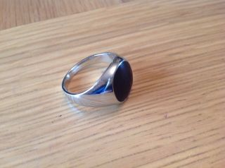 A ' Find ' Gents Size W, .  Onex Signet Ring See Details photo