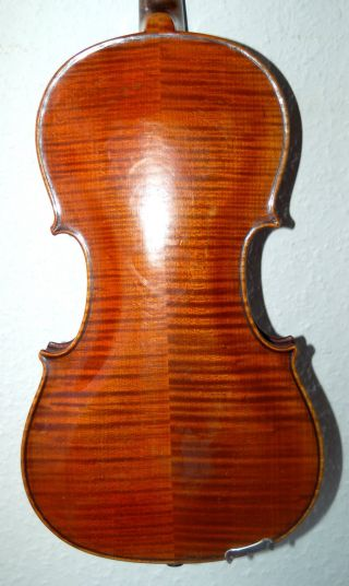 Fine Handmade German 4/4 Fullsize Violin - Over 100 Years Old photo