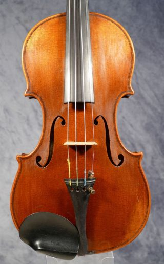 Old German Violin By ?.  ? Merz,  After Guarneri