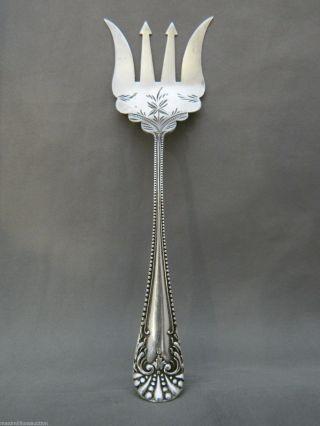 Antique Baker Manchester Mfg Co Sterling Silver Sardine Fork photo