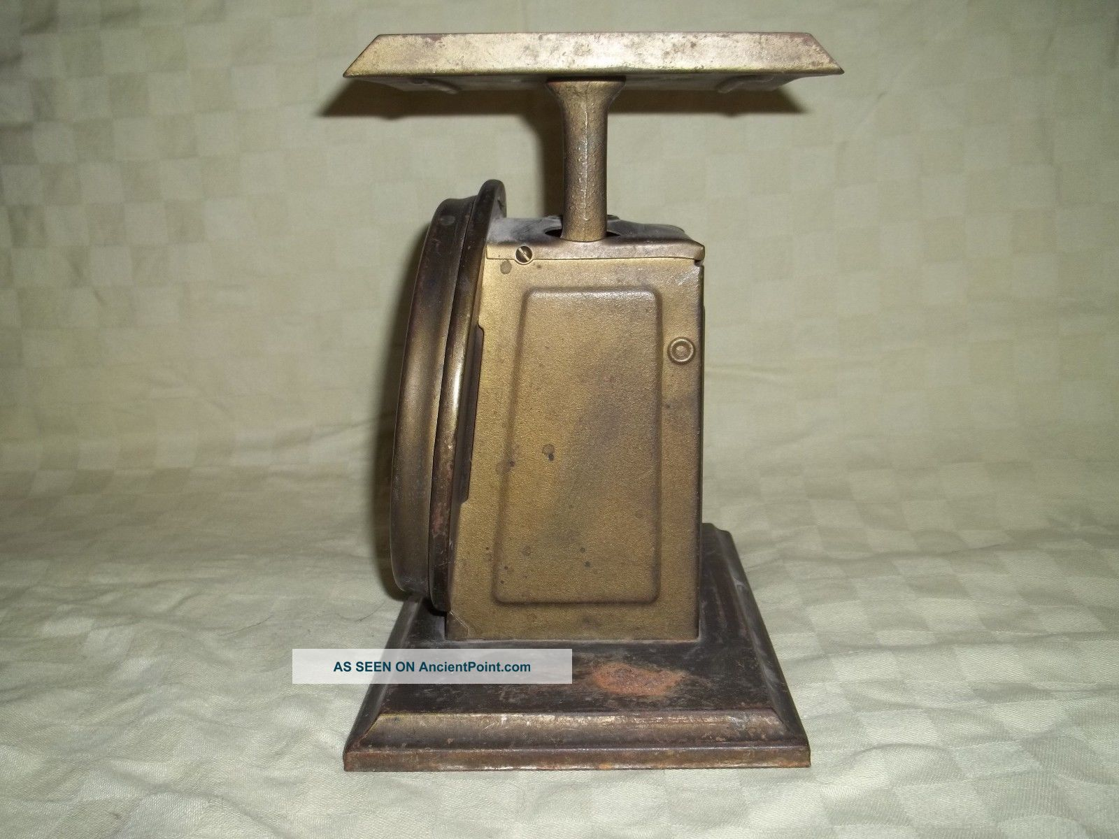 Vintage Early 1900s Pelouze Mfg Co Parcel Post Postal Scale