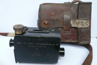 Ross London Angle Of Sight Instrument Optical Mark 11 Brass Pre World War2 Rare photo