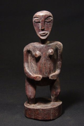 Fertility Figure Made From Ceddarwood - Tribal Artifact - West Timor - photo