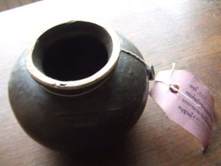 China.  Sung Dynasty.  Shipwreck Item.  Brown Tea Dust Glazed Pottery Jar, photo
