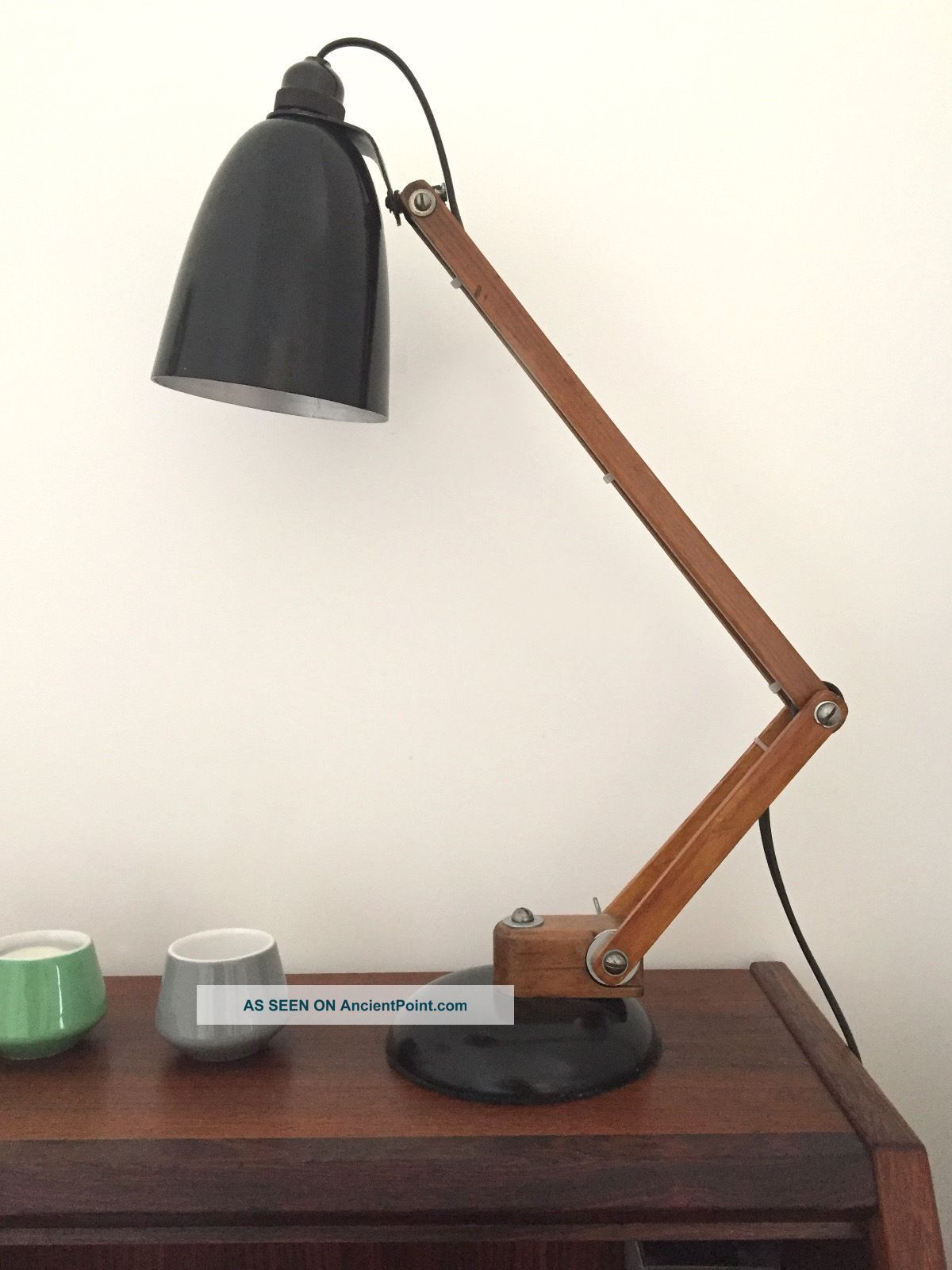 Maclamp 1960s Conran (wooden Arms) 20th Century photo