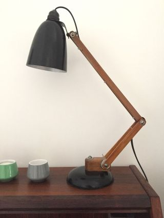 Maclamp 1960s Conran (wooden Arms) photo