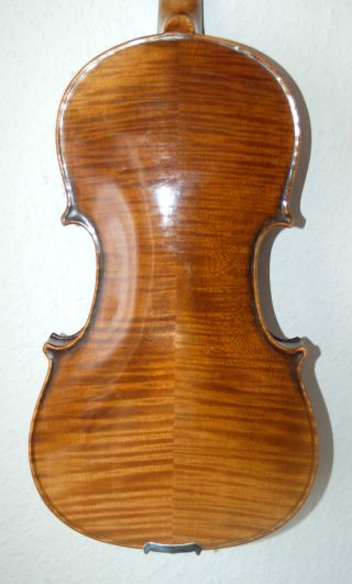 Fine Antique Handmade German 4/4 Master Violin - Label Antonius Stradiuarius photo