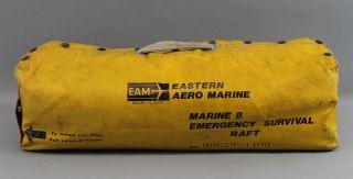 8 - Man Eam Eastern Aero Marine,  Boat Or Ship Inflatable Life Raft,  Nr photo