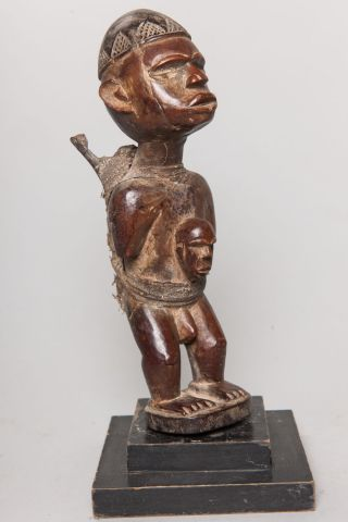 Yombe,  Power Figure,  D.  R.  Congo,  African Tribal Sculpture photo