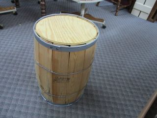 Wood Nail Keg Wooden Barrel Primitive 18