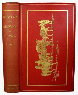 Nineveh Babylon Ruins Archaeology 1876 Ancient Assyria Bible Arabia Euphrates photo