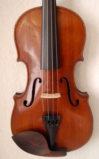 Fine Antique Handmade German 4/4 Fullsize Violin - 1920 ' S photo