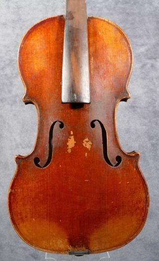 French Violin,  Nicolas Vuillaume School Around 1850 - 60,  No Cracks photo