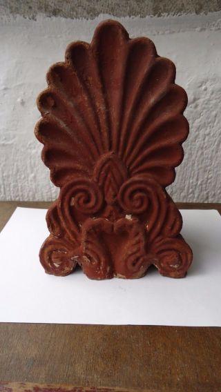 Old Greek Akrokeramo - Old Greek Ceramic Akroterion