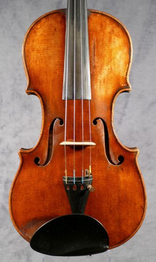 Very Fine Old Violin Around 1840 Possibly By Nicolaus Diehl Darmstadt photo