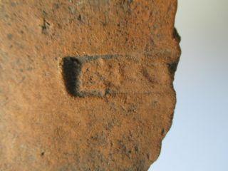 Roman Tile With Stamp Of Tenth Legion Legio X Gemina 100 Ad Rrr M - 1437 photo