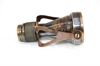 Antique Pocket Monocular Telescope Vintage Pirate Spyglass Scope Solid Brass photo