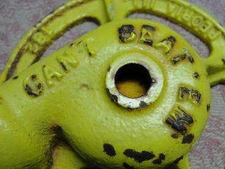 Vintage L R Nelson Can ' T Beat ' Em Cast Iron Lawn Garden Sprinkler Mist Sprayer photo