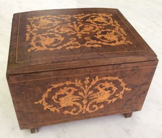 Vintage Thorens Music Trinket Box Made In Switzerland Torna A Surriento photo