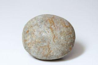 Gem Quality Ancient Hawaii Round Ulumaika Game Stone - photo