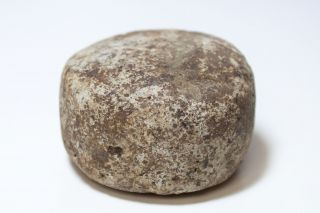 Ancient Hawaii Ulumaica Game Stone - Pre Contact photo